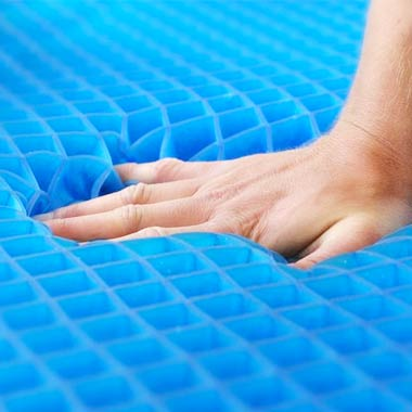 Hand feeling the Base of Mattress