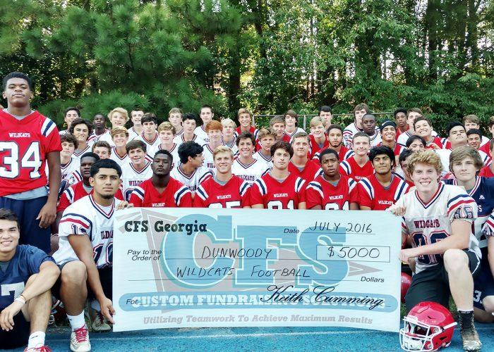 CFS Dunwoody Wildcats Football $5000