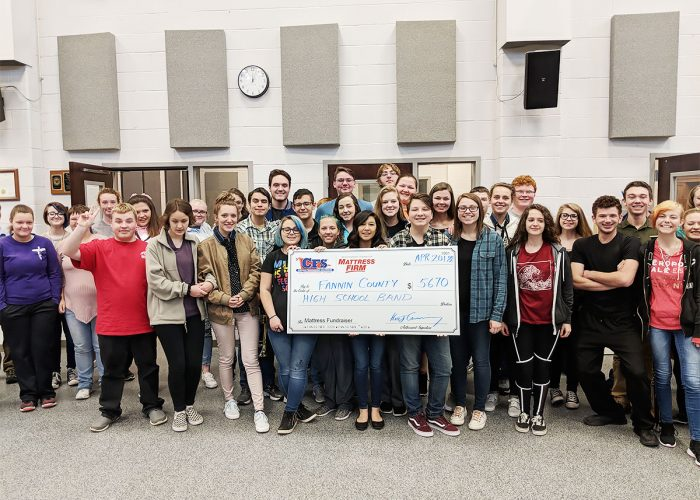 CFS Fannin County High School Band for $5670