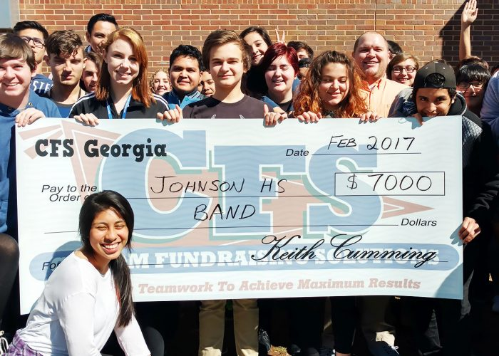 CFS Johnson Highschool Band for $7000
