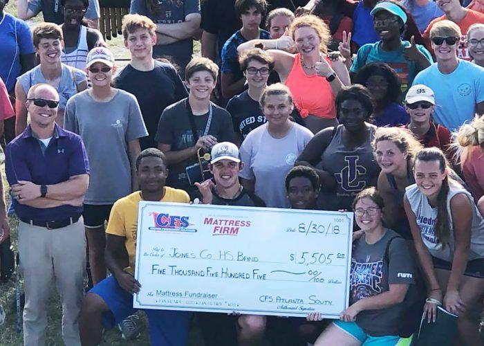 CFS South Atlanta Jones Co Highschool Band $5,505