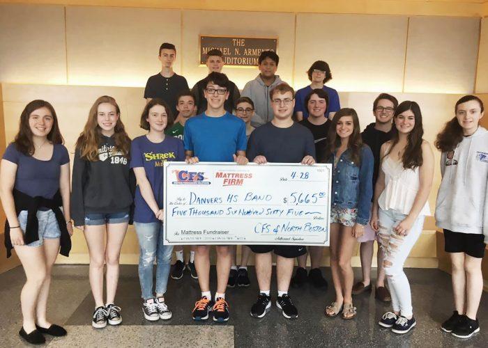 CFS North Boston Danvers Highschool Band for $5665