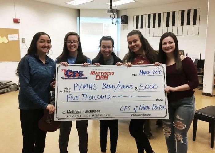 CFS PVMHS Band and Chorus $5000