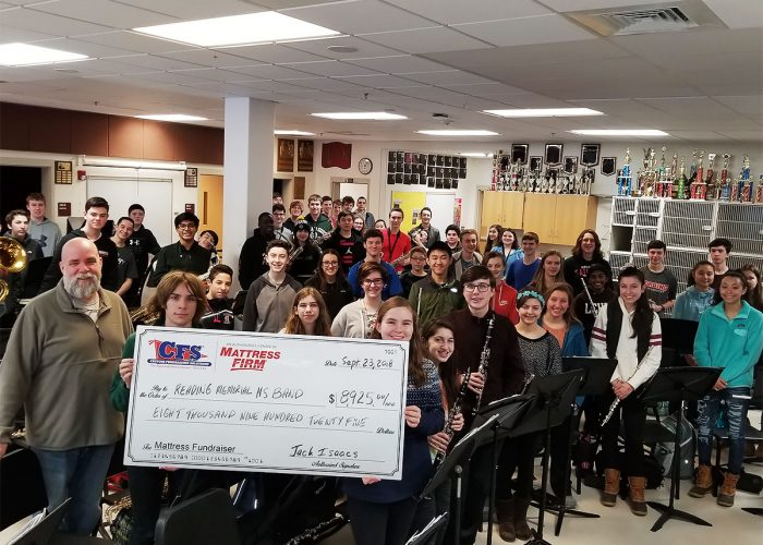 CFS Reading Memorial Highschool Band for $8925