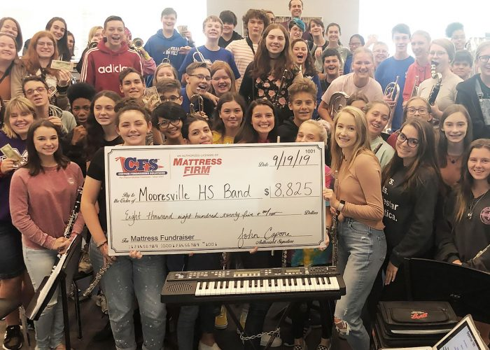 CFS Charlotte Mooresville Highschool Band for $8825