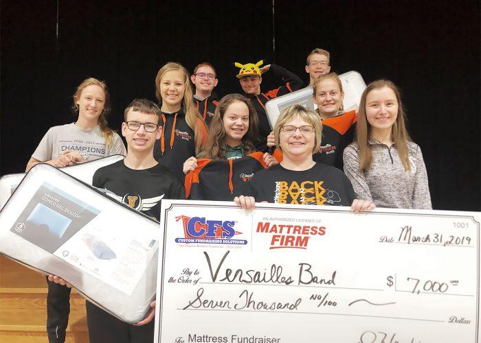 CFS Cincinnati Vensailles Band for $7000
