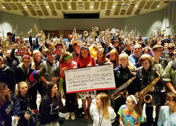 CFS Cleveland Olmsted Falls Band for $9025