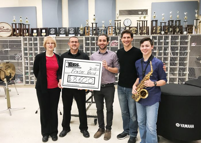 CFS Detroit Fraser Band for $8600