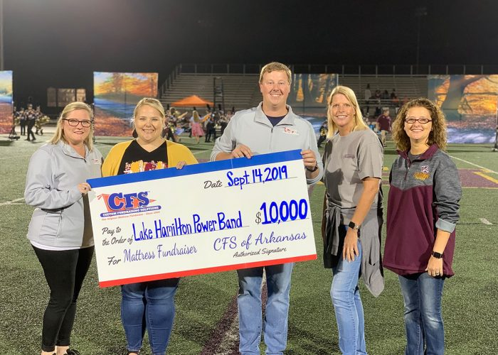 Lake Hamilton Power Band for $10,000