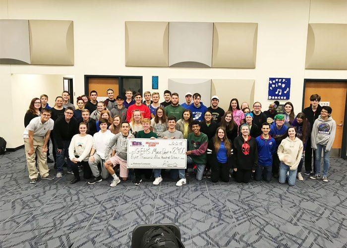 CFS GEHS Music Department for $8900