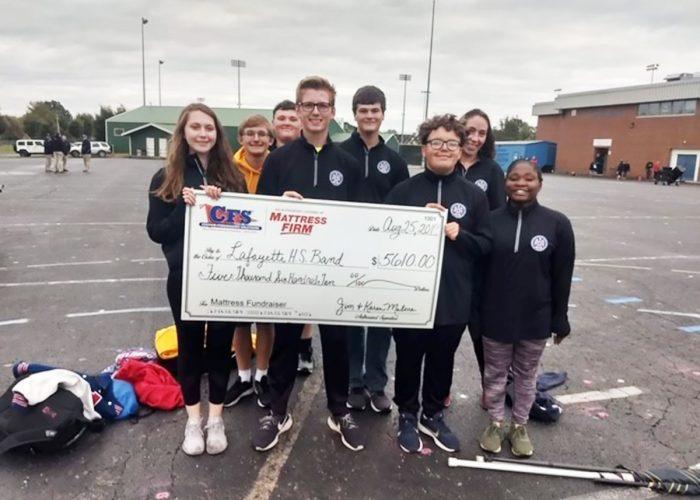 CFS Kentucky Lafayette Highschool Band $5610