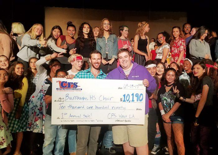 CFS Burroughs HS Choir $10190
