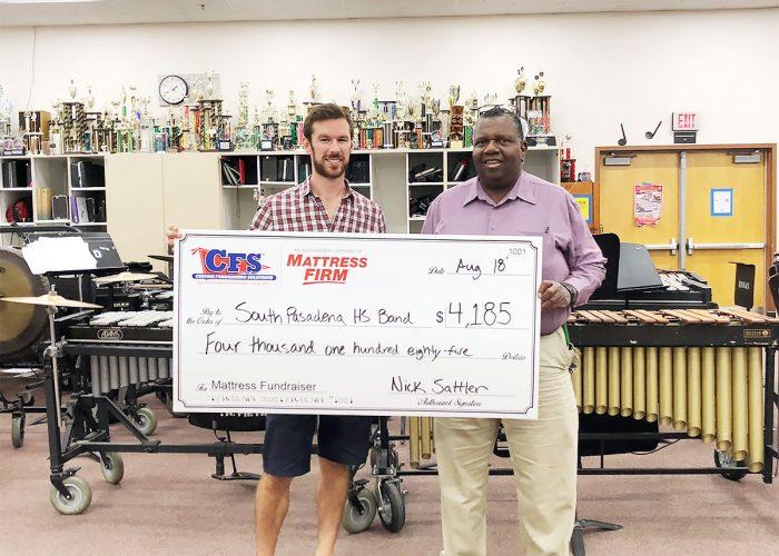 South Pasadena High School Band for $4185