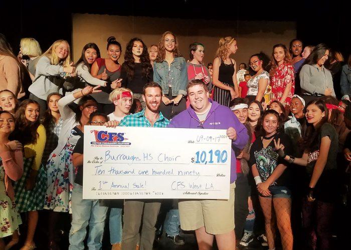 CFS West Los Angeles Burroughs HS Choir $10190