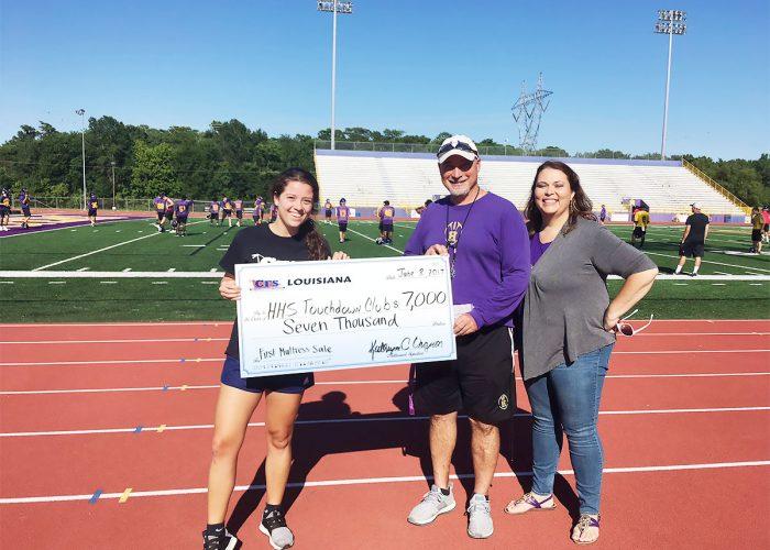 CFS New Orleans HHS Touchdown Club $7000